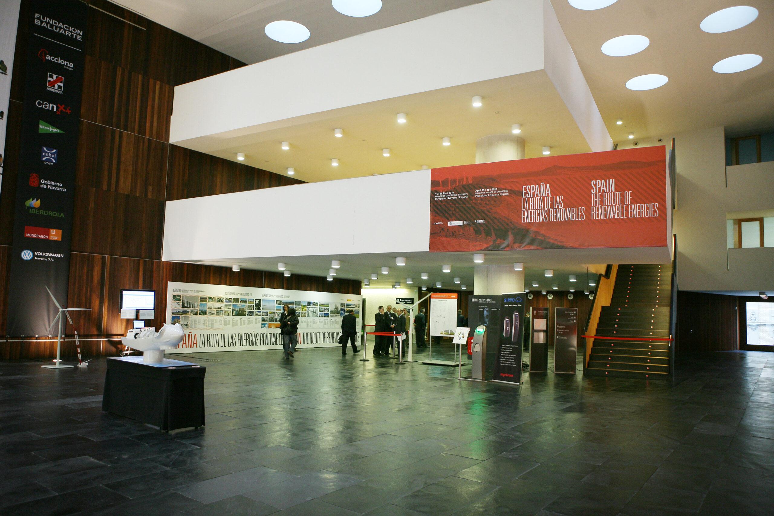 Exposición organizada por CENER con motivo de la reunión de responsables de Energía europeos en Pamplona, coincidiendo con la presidencia española de la UE (2010).