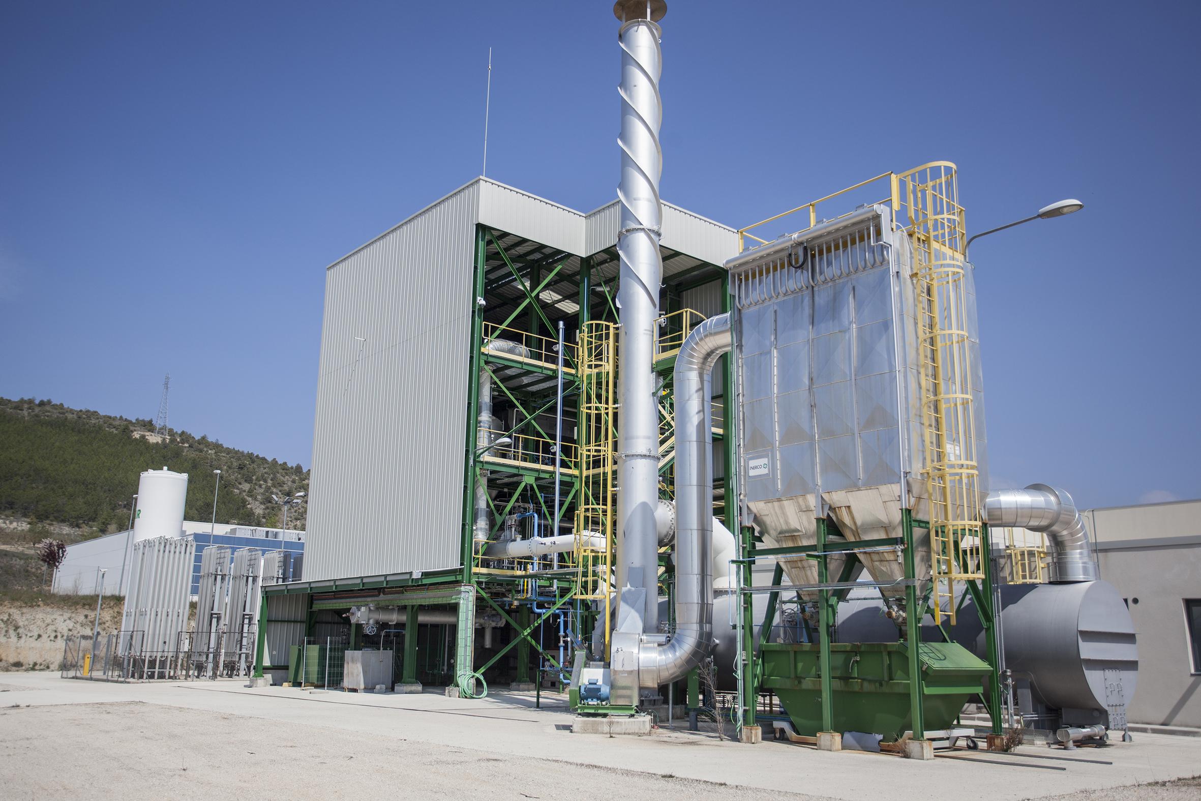 Unidad de Gasificación del Centro de Biorrefinería y Bioenergía de CENER