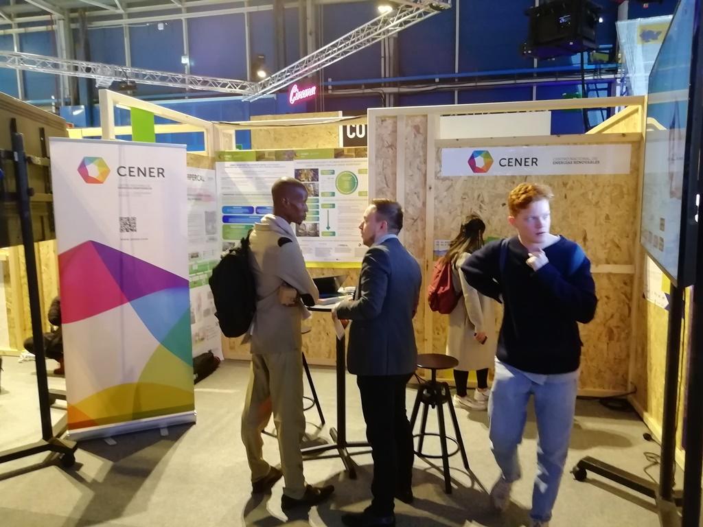 CENER presente en la Cumbre del Clima COP 25, con un stand y con ponencias (2019).