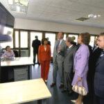 Los Reyes de España inauguran la sede de CENER (2005).
