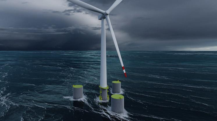 CENER, socio del proyecto FLAGSHIP: el punto de partida para los futuros parques eólicos flotantes de 500 MW (2020).