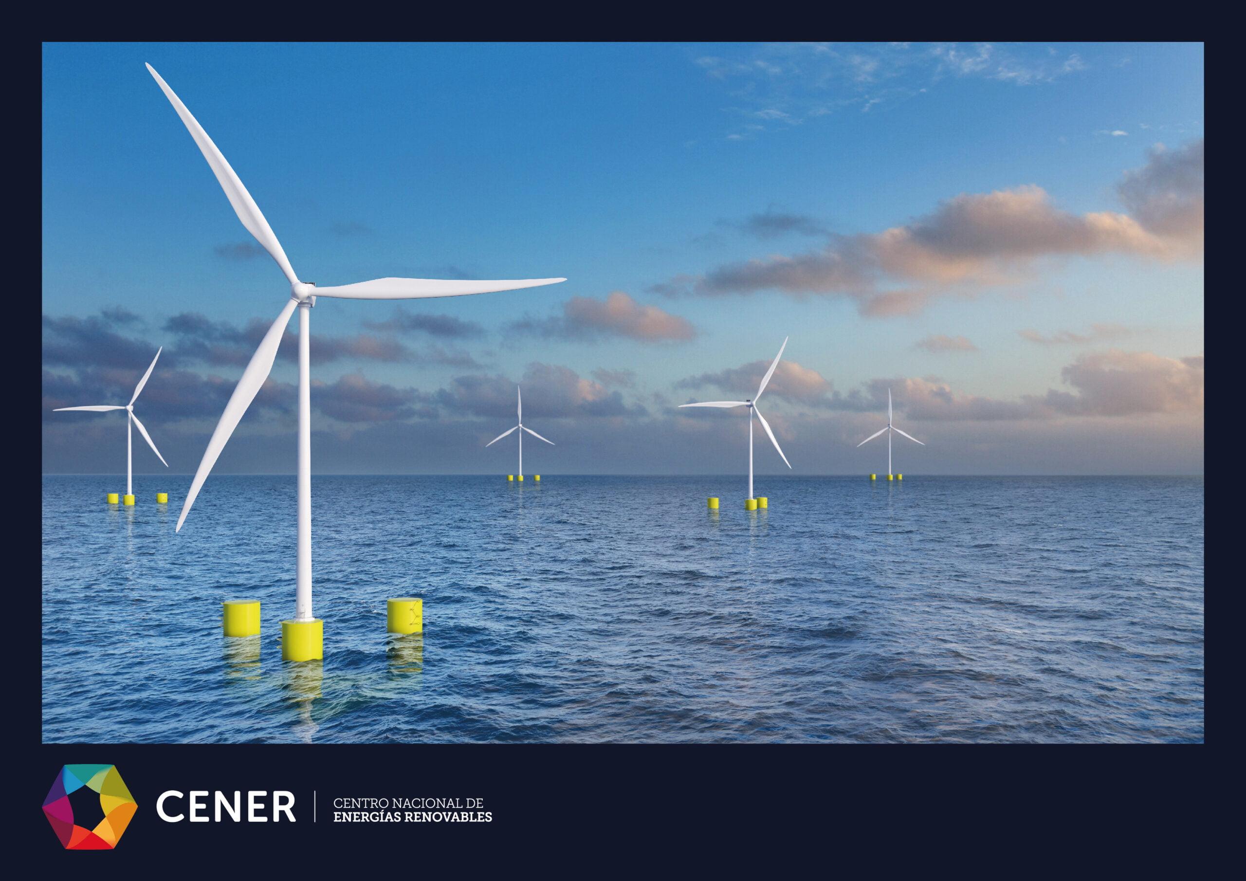 Desarrollo de energía eólica marina por parte de CENER