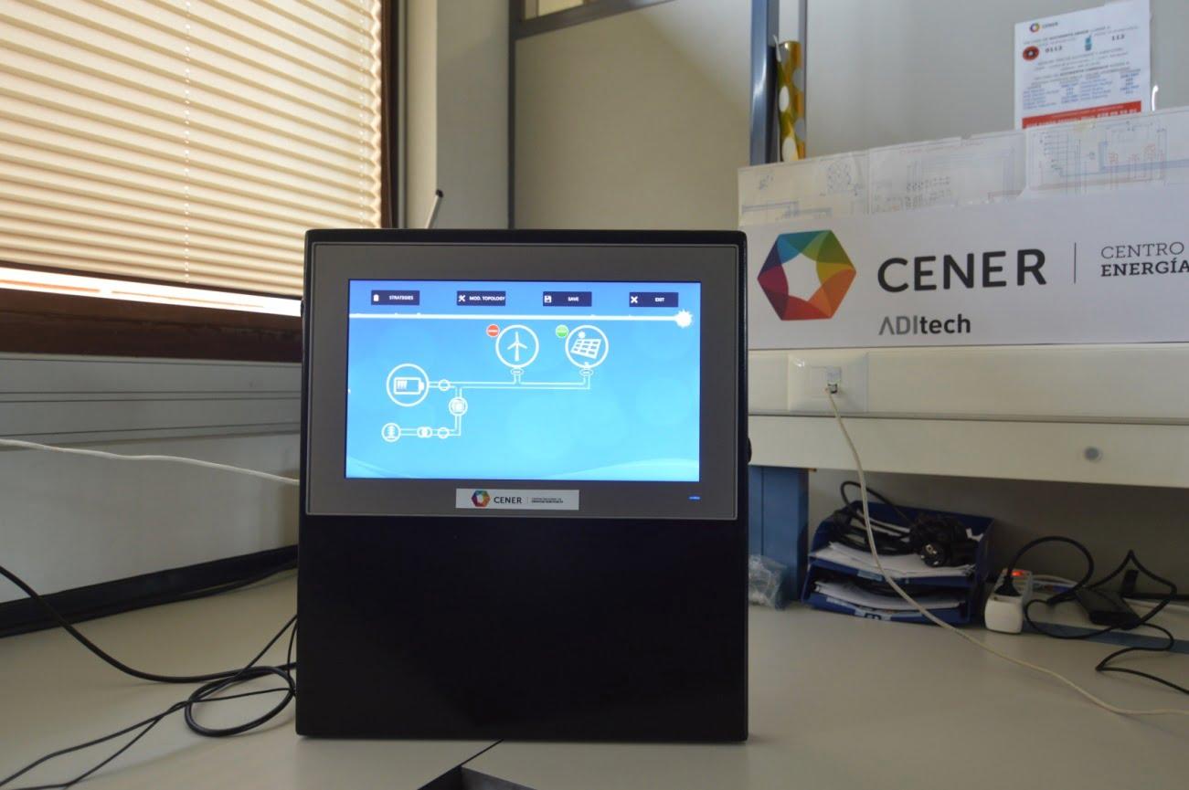 Gestión de la Energia. HMI - Energy Management System