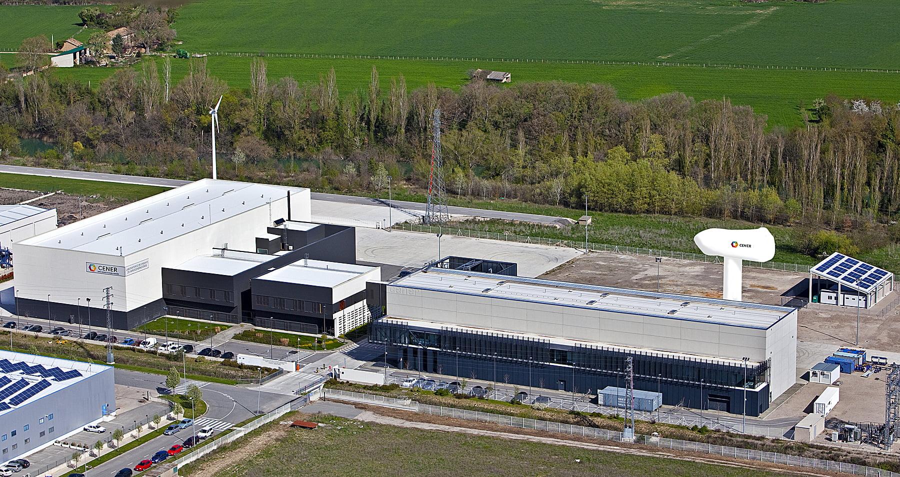 Laboratorio de Ensayo de Aerogeneradores de CENER